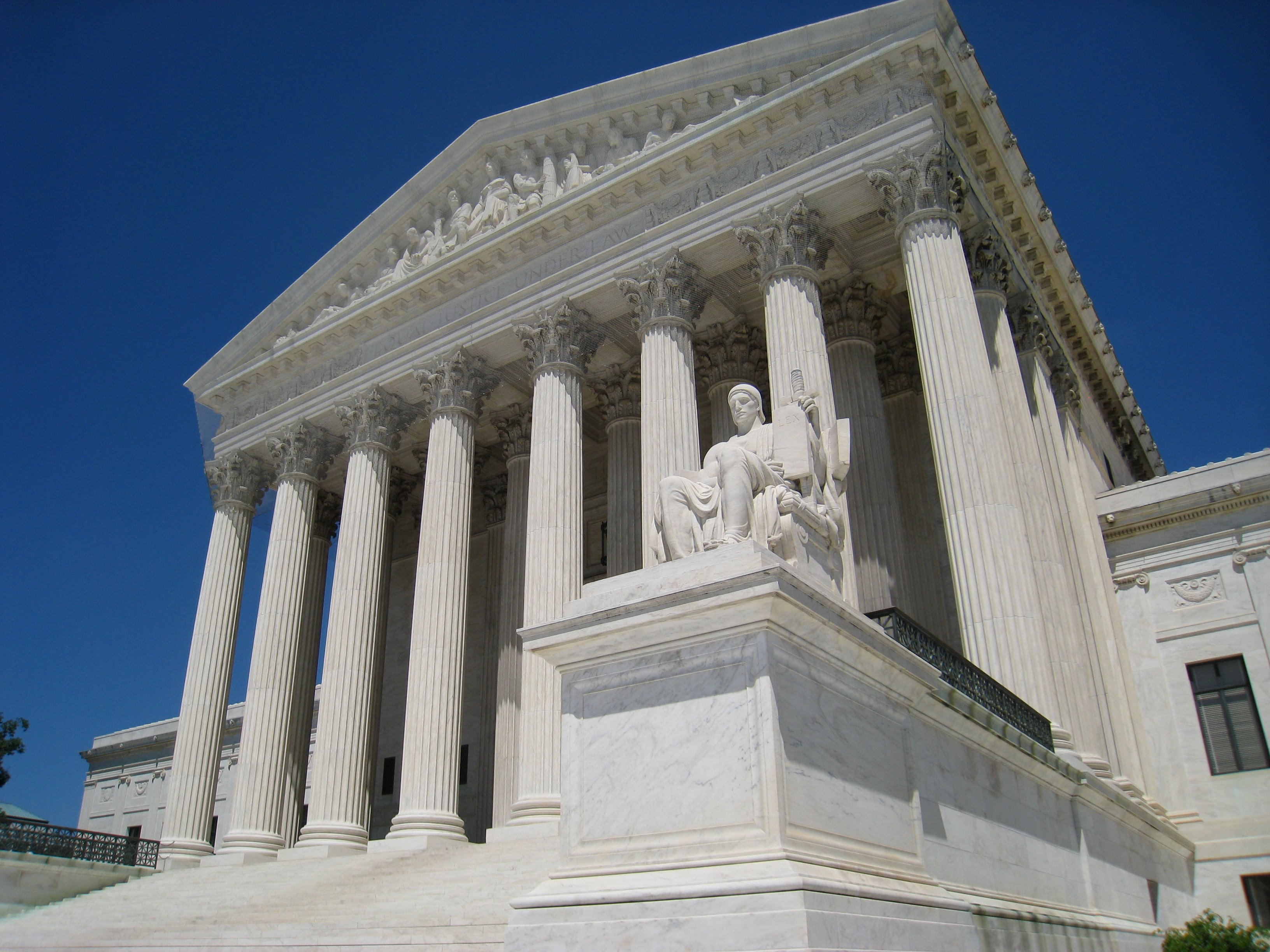 The Supreme Court of the United States (Photo courtesy of Wikimedia Commons)