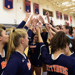 Volleyball Opens Season With Tough Tournaments