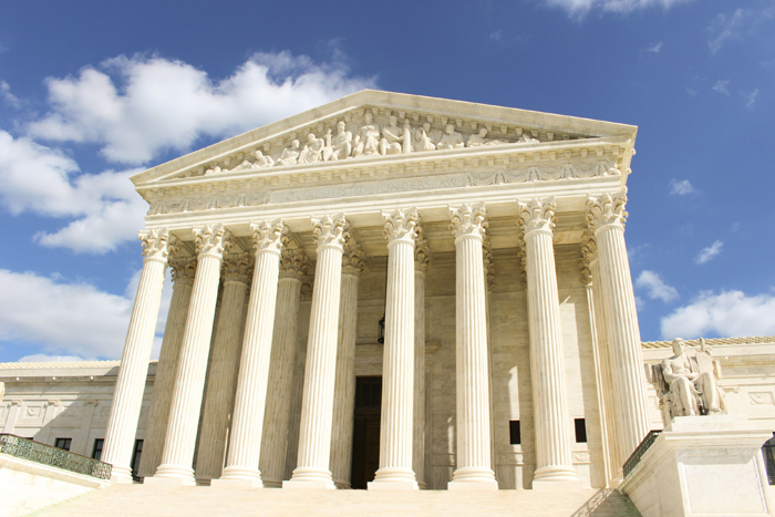 Supreme Court Building (Photo courtesy of NOAA Library)