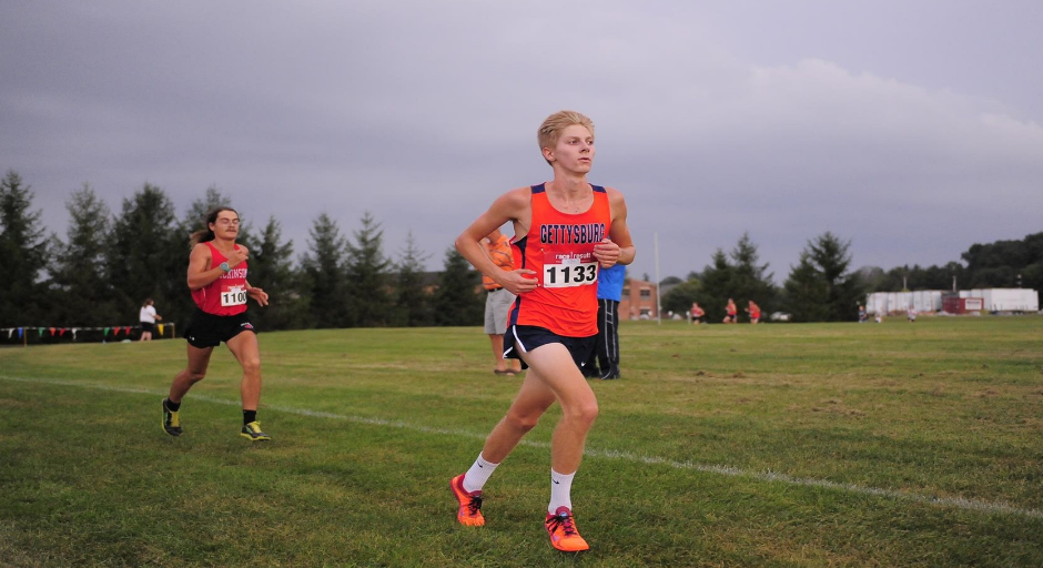 Dylan McKeever (Photo courtesy of Gettysburg College Athletics)