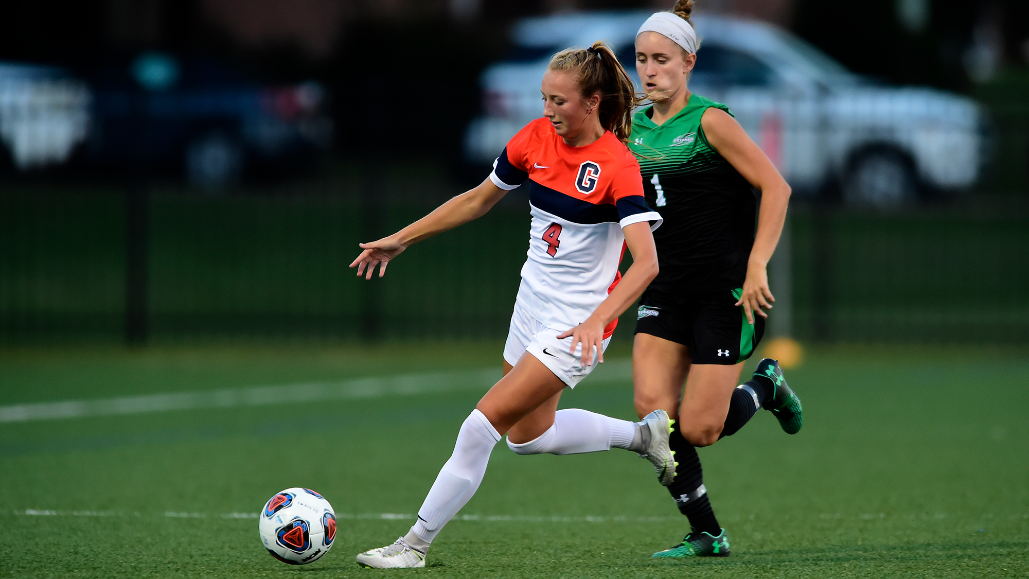 First-year Kelly Gaudian has had a big impact early in her college career (Photo courtesy of Gettysburg College Athletics)