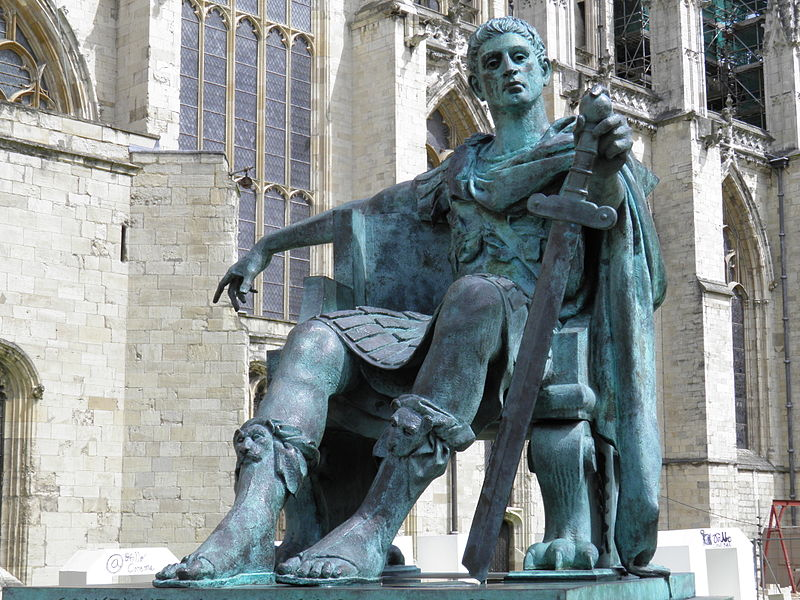(Constantine the Great Statue in York, file photo)