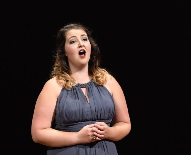 Eby Buscher '19 will perform her senior recital on Sunday, November 11 (Photo provided)