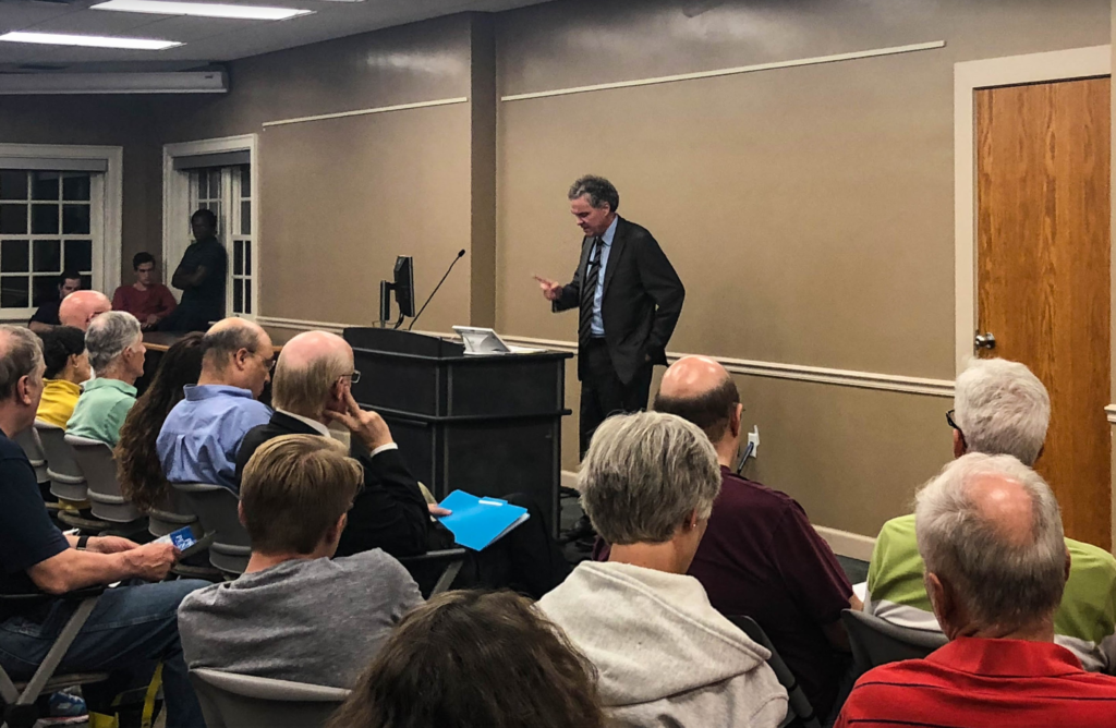 Dr. Edward Ayers, 2018 Gilder-Lehrman Lincoln Prize winner, visits campus to speak about his newest book on the Civil War.