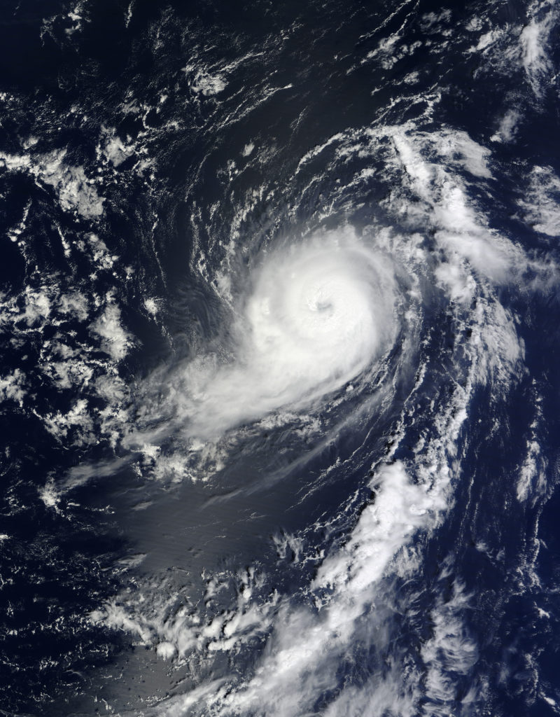 Hurricane Michael, (Photo courtesy of NOAA)