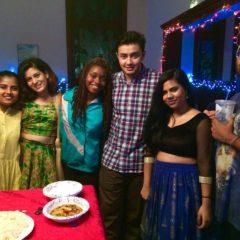 Bringing Light to Campus on Diwali Night