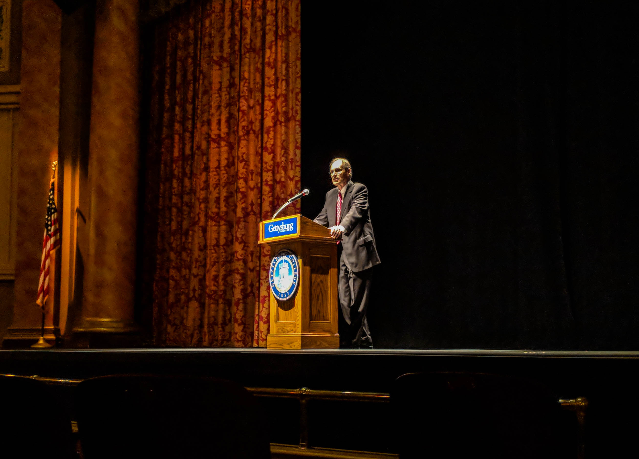 2018 Fortenbaugh Lecture (Photo Mary Frasier/The Gettysburgian)