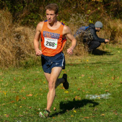 Men's Cross Country Competes at Championships
