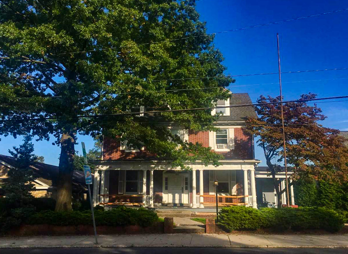 343 Carlisle Street, the house at which the incident allegedly occurred (Photo Lauren McVeigh/The Gettysburgian)