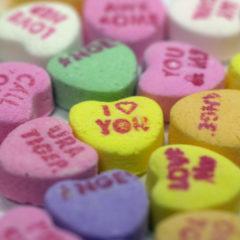 Candid Candies: Gettysburg Heart to Hearts on Valentine's Day