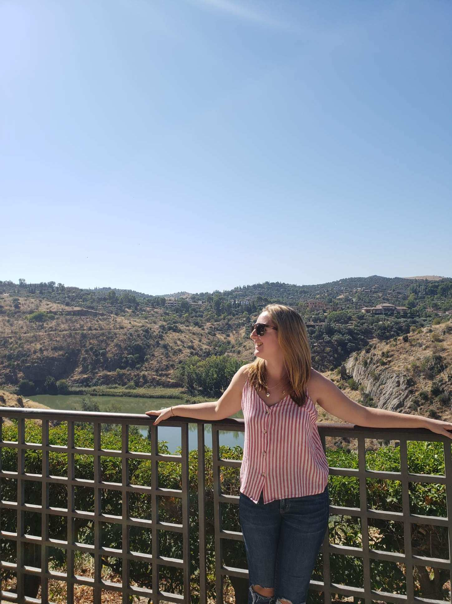 Caitie Glance studied abroad in Madrid, Spain during the fall semester of 2018 (Photo courtesy of Caitie Glance).
