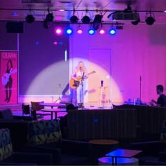 'The Voice' Contestant Olivia Farabaugh Jams at Coffeehouse Series