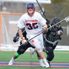 Men's Lacrosse Takes Down Eastern