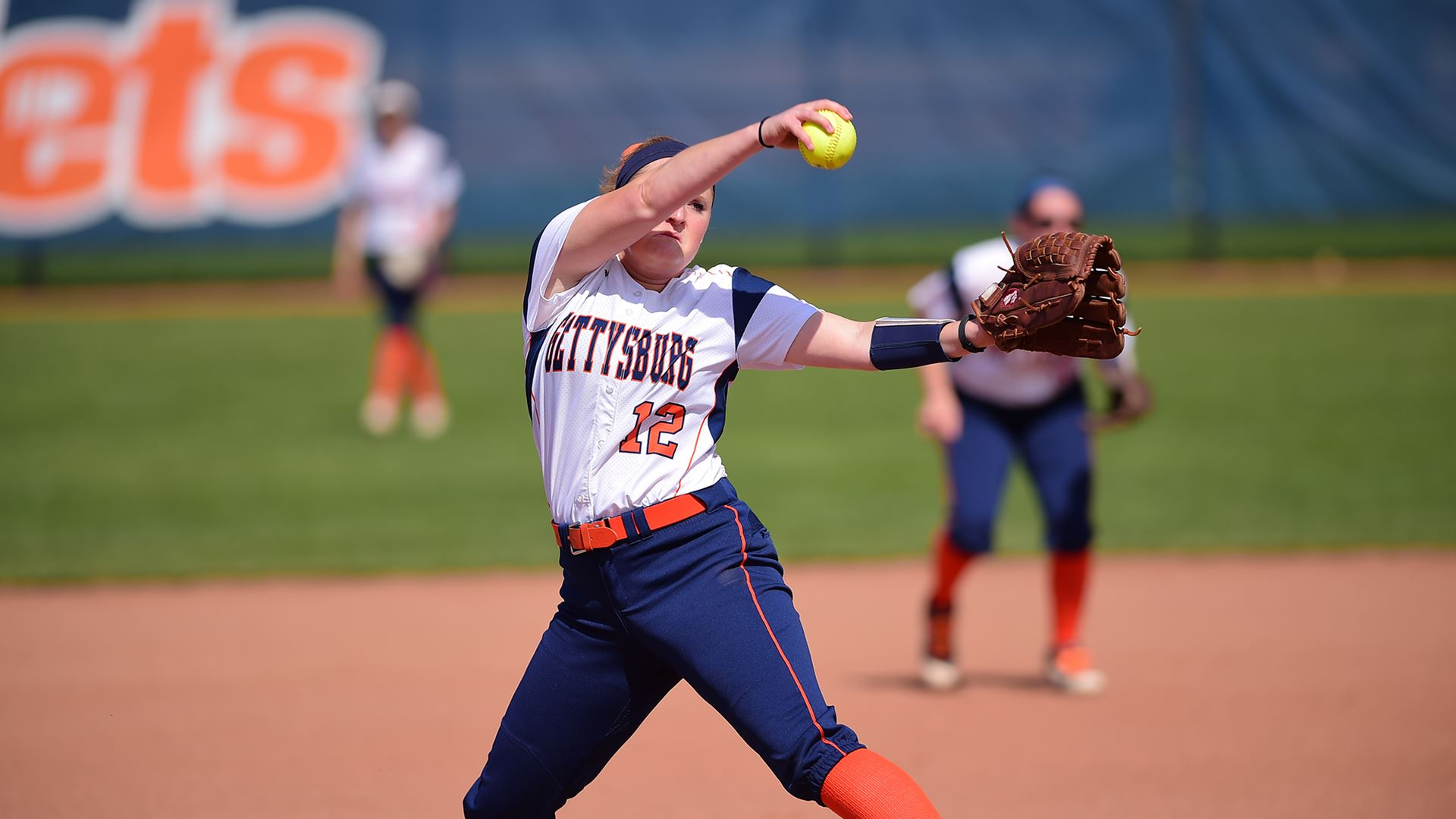 Senior Morgan Clauser tossed a 2-hit shutout against Ramapo College. (Photo courtesy of David Sinclair)