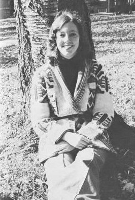 Shown here is Janet Morgan Riggs as a Gettysburg student (Photo courtesy of Spectrum)