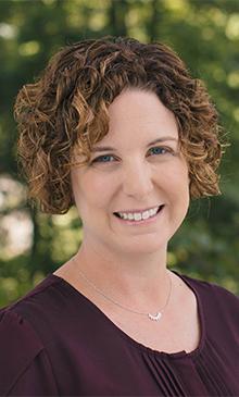 Professor of Psychology Natalie Barlett presented on Gender Development in this week's WGS lecture (Photo courtesy of Gettysburg College).
