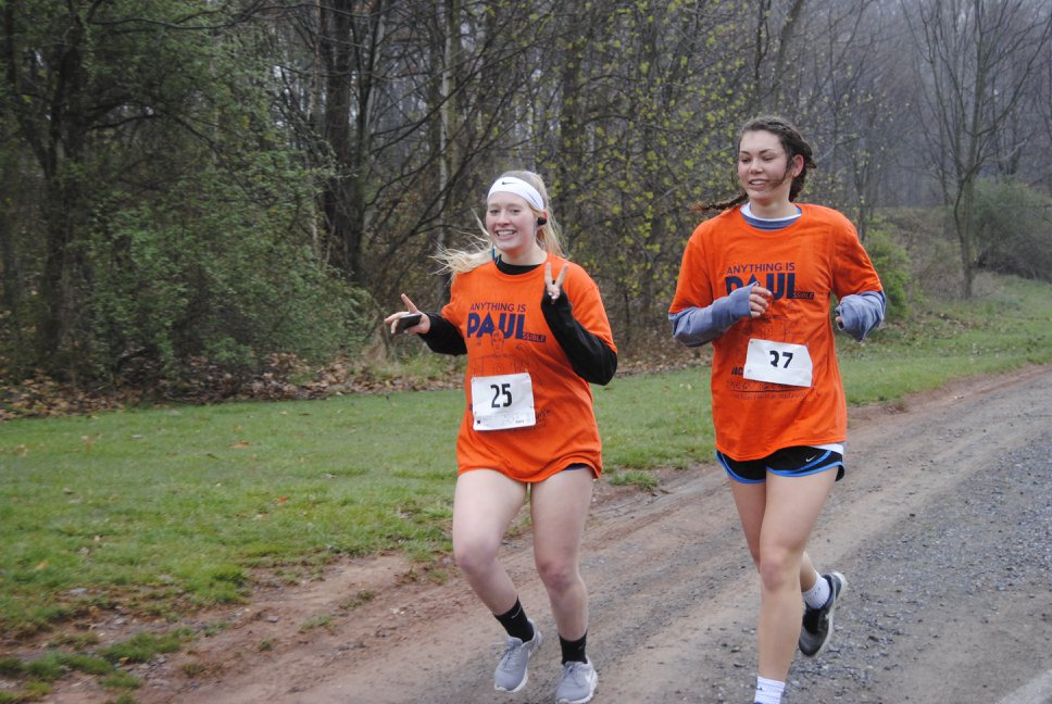 Gettysburg students, community members, and other runners have participated in the Anything is PAULssible 5k for going-on six years (Photo courtesy of Brittany Bondi)