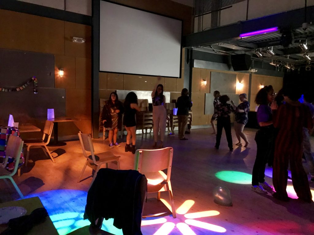 Queer Prom brought music, snacks, and dancing to students on a Friday night (Photo courtesy of Lindsey Ukishima '20)