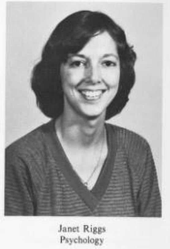 Janet Morgan Riggs served as a professor at Gettysburg College from 1981 to 1991 and intermittently until 2006 (Photo courtesy of Spectrum)