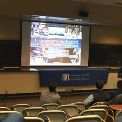 Bruce Hoffman Delivers Eisenhower Institute Lecture on Evolving Terrorist Threat