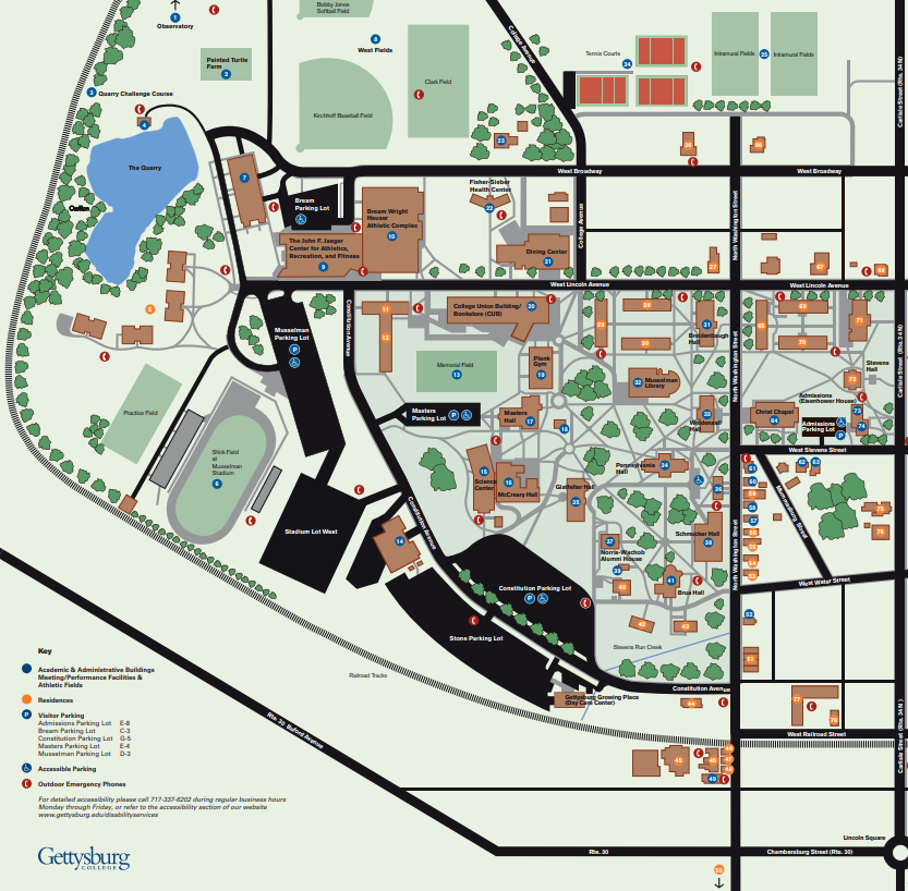 The new residence hall would be on Lincoln Avenue across the street from the Jaeger Center in the current space of the Musselman Parking Lot (File photo)
