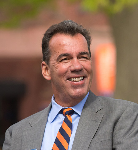 David Brennan, Chair of the Gettysburg College Board of Trustees (Photo courtesy of Gettysburg College)