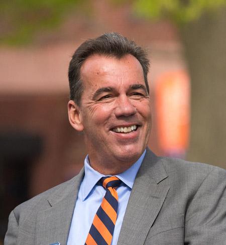 David Brennan, Chair of the Gettysburg College Board of Trustees (Photo courtesy of Gettysburg College)