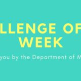 Challenge of the Week: Students & Professors