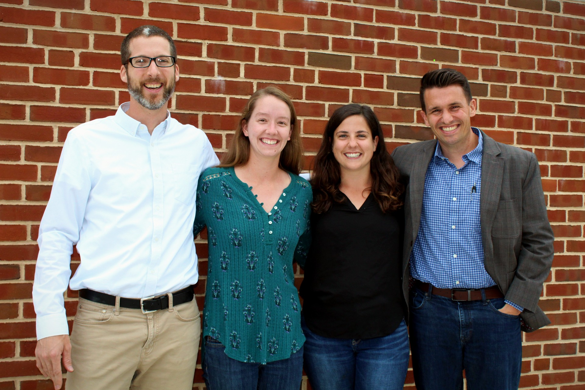 Directors of GRAB and GLC pictured (left to right): GLC Associate Director Paul Miller, GLC Assistant Director Kaitlin Wingard '15, GRAB Assistant Director Jessica Jozwik '14, and GLC Executive Director Andrew Hughes (Photo Sam Hann/The Gettysburgian).