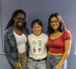 From L: Mariam Traore, Melanie Pangol & Mariam Martinez