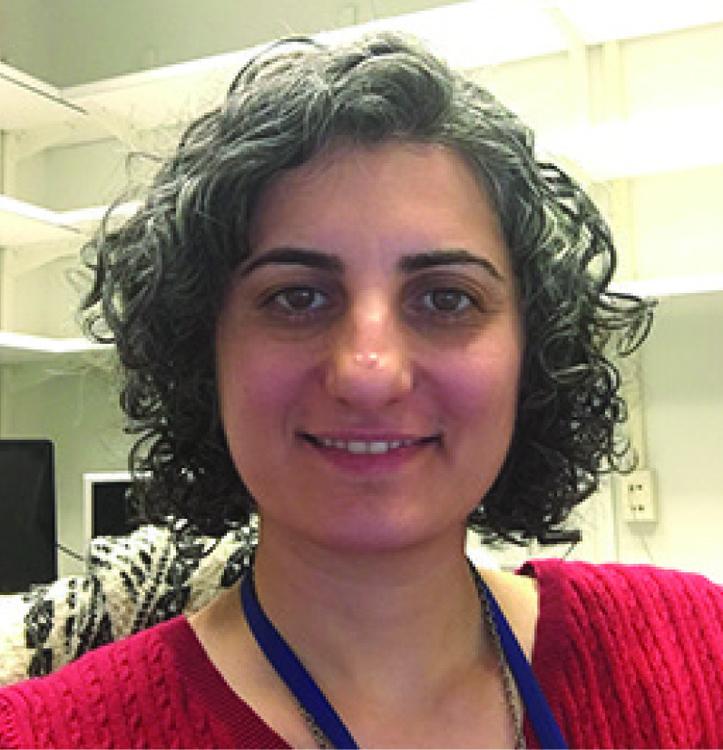 Maryam Vaziri-Pashkam MD, PhD spoke as part of the Psychology Kenneth L. Smoke Colloquium Lecture Series (Photo courtesy of Gettysburg College).