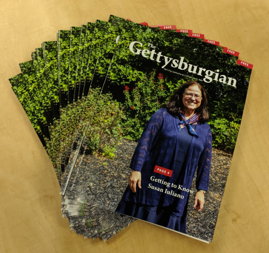 The Gettysburgian's magazine (Photo Mary Frasier/The Gettysburgian)