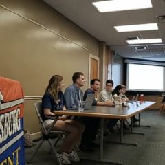 Student Senate Covers Logistics, Welcomes the Class of 2023 in First Meeting of the Year