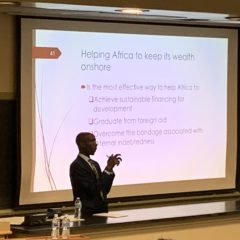 14th Annual Gondwe Lecture: Léonce Ndikumana Presents on Capital Flight and Debt in Africa