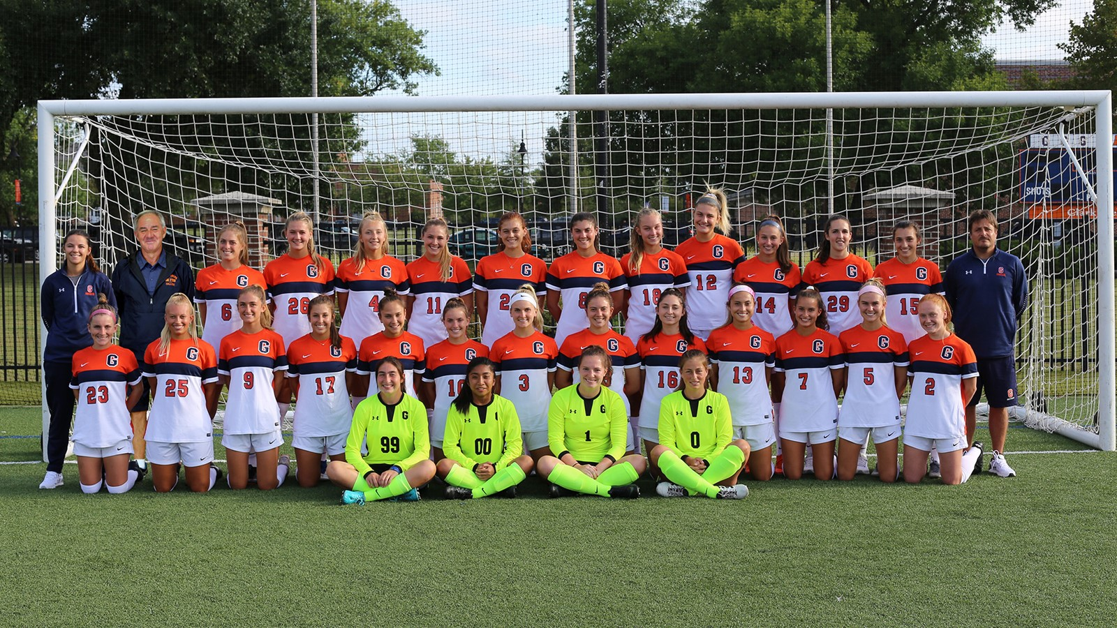 The Gettysburg College Women's Soccer team (Photo courtesy of Gettysburg College Athletics)