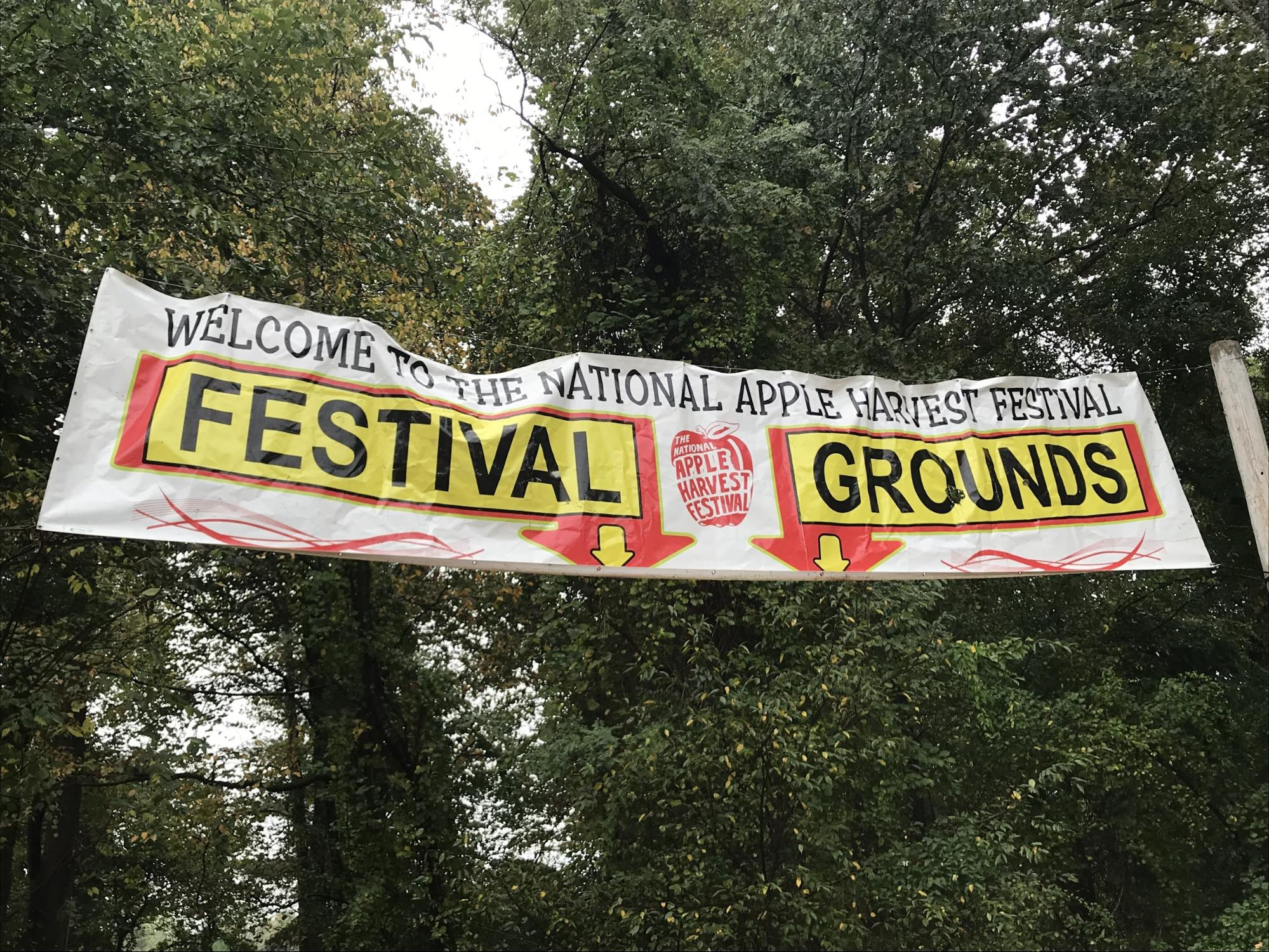 Adams County welcomes patrons to its 55th Annual National Apple Harvest Festival (Photo Emma Canfora/The Gettysburgian)