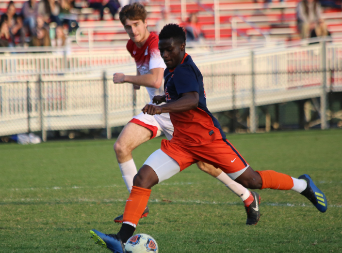 Oladayo Thomas (Photo courtesy of Gettysburg College Athletics)