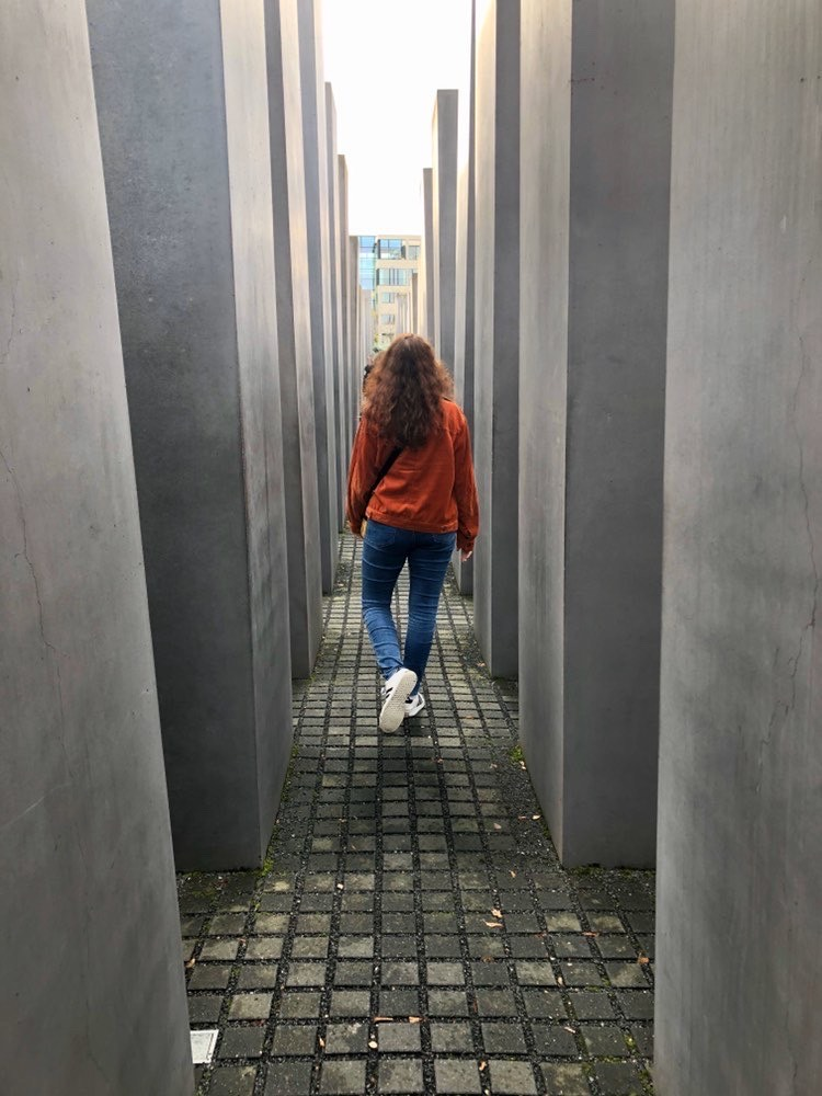 Hannah Labovitz took a solo trip to Berlin while studying abroad in Spain (Photo provided)