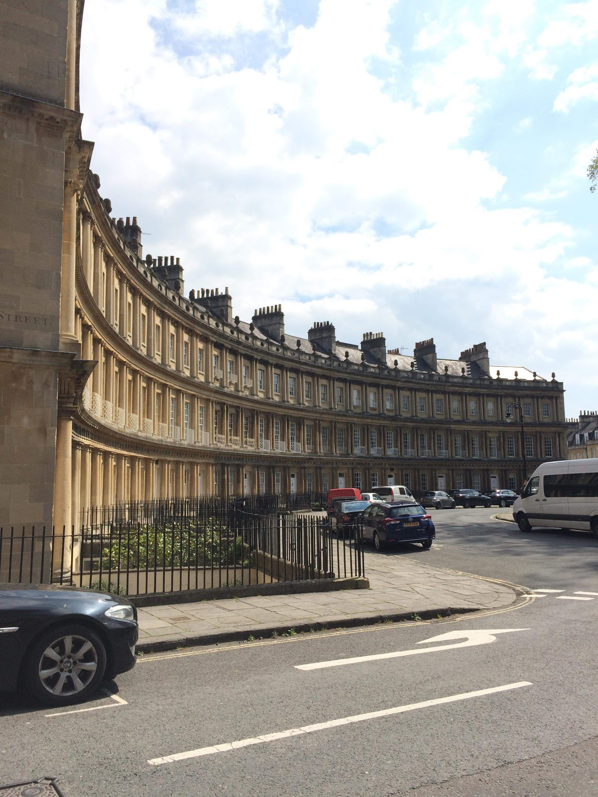 The Circus in Bath, England (Photo courtesy of Abby Pope)