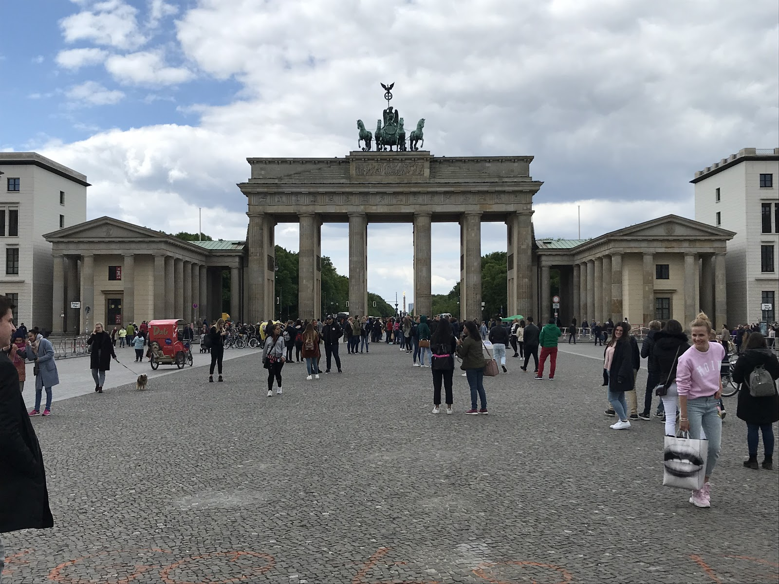 Brandenburg Gate in Berlin, Germany (Photo courtesy of Kyle McIntyre)