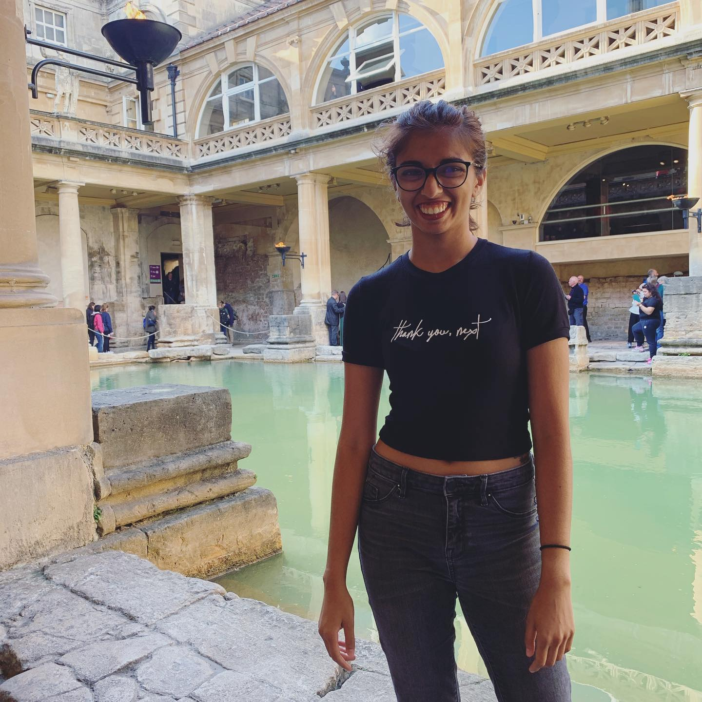 Gauri Mangala while abroad in Bath, England (Photo provided)