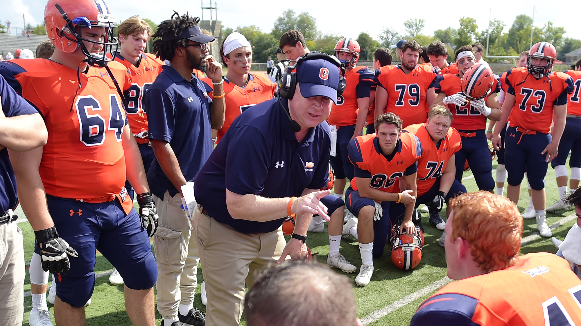 Kevin Burke has left the Gettysburg College football program (Photo courtesy of Gettysburg College Athletics)