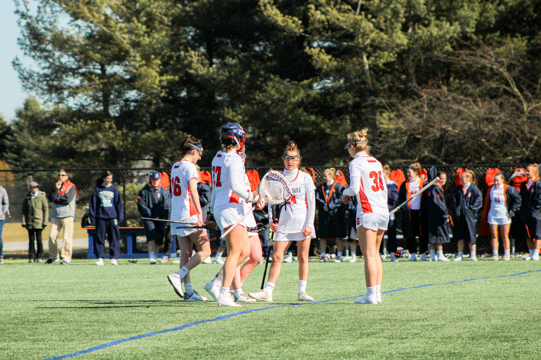 The women's lacrosse team defeated XX (Photo Allyson Frantz/The Gettysburgian)
