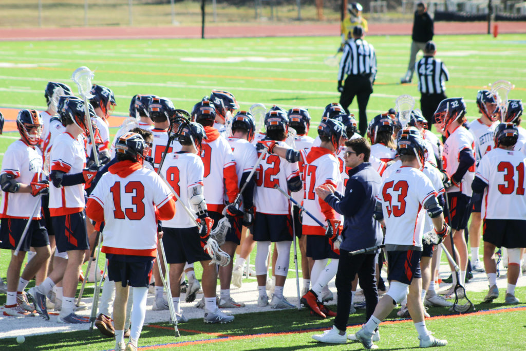 Men's lacrosse action is, as with the rest of Gettysburg sports, suspended (Photo Allyson Frantz/The Gettysburgian)