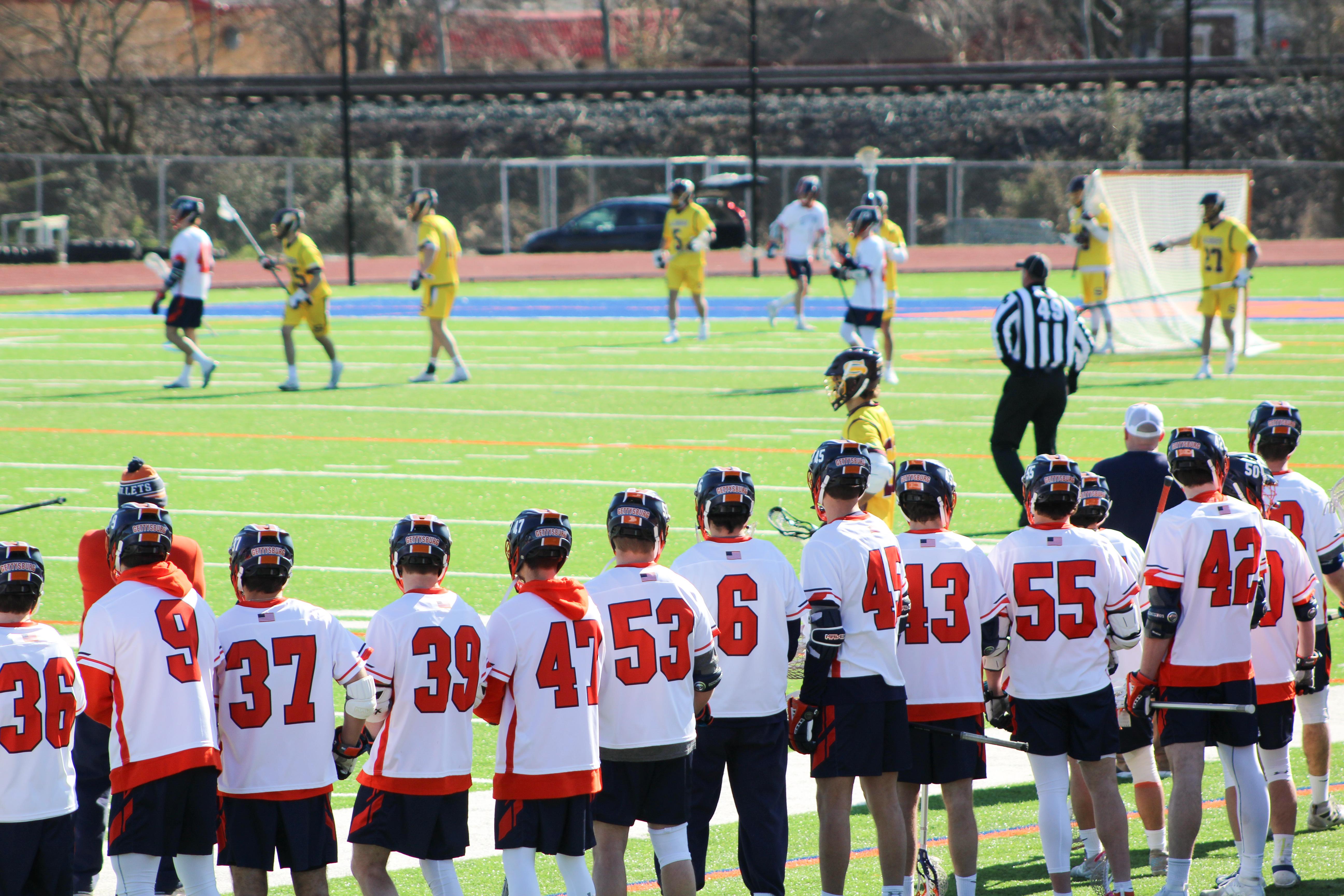 Men's Lacrosse (Photo Allyson Frantz/The Gettysburgian)