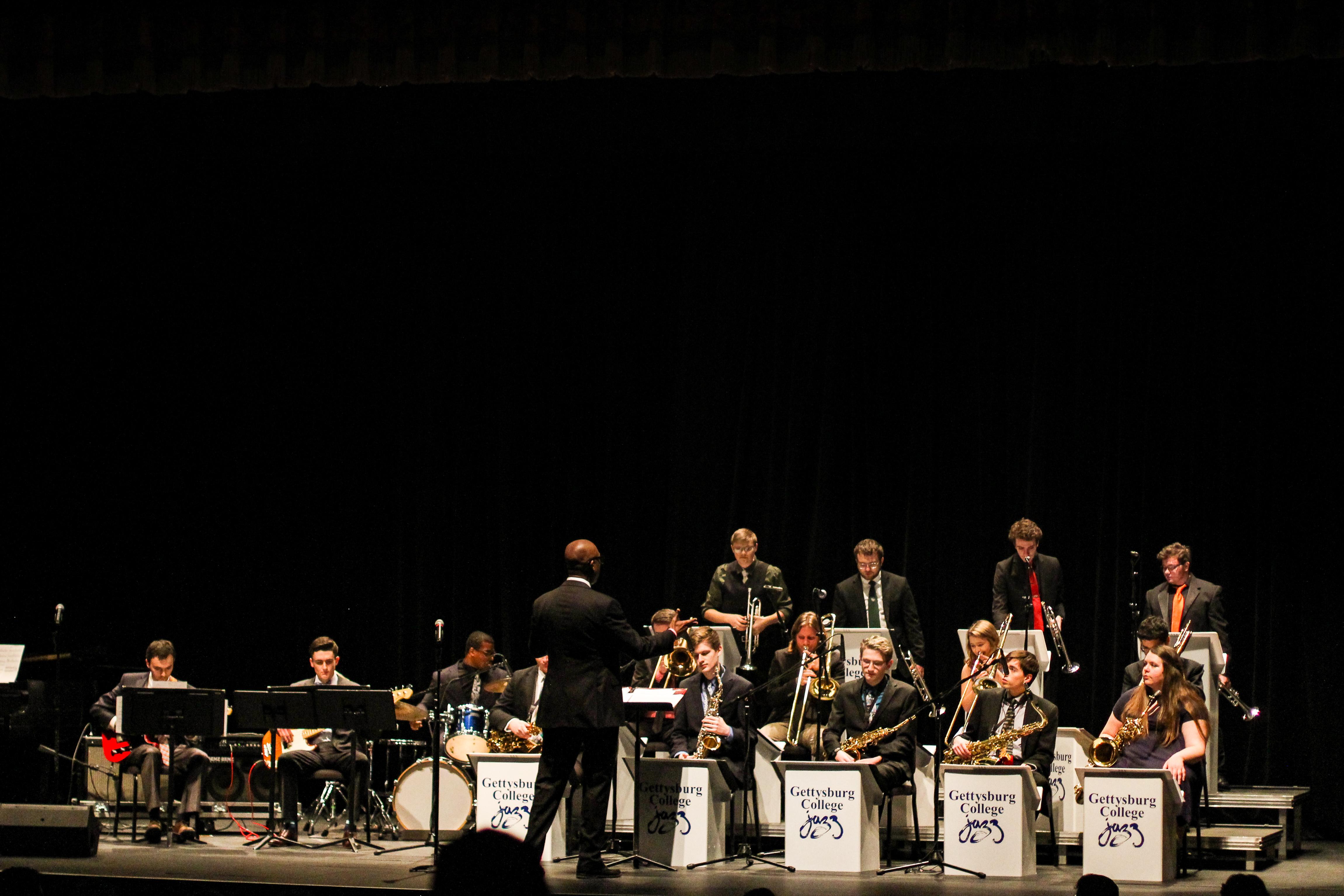 Jazz Concert (Photo Allyson Frantz/The Gettysburgian)
