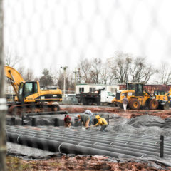 Gettysburg College Installs New Parking Lot Ahead of Residence Hall Construction