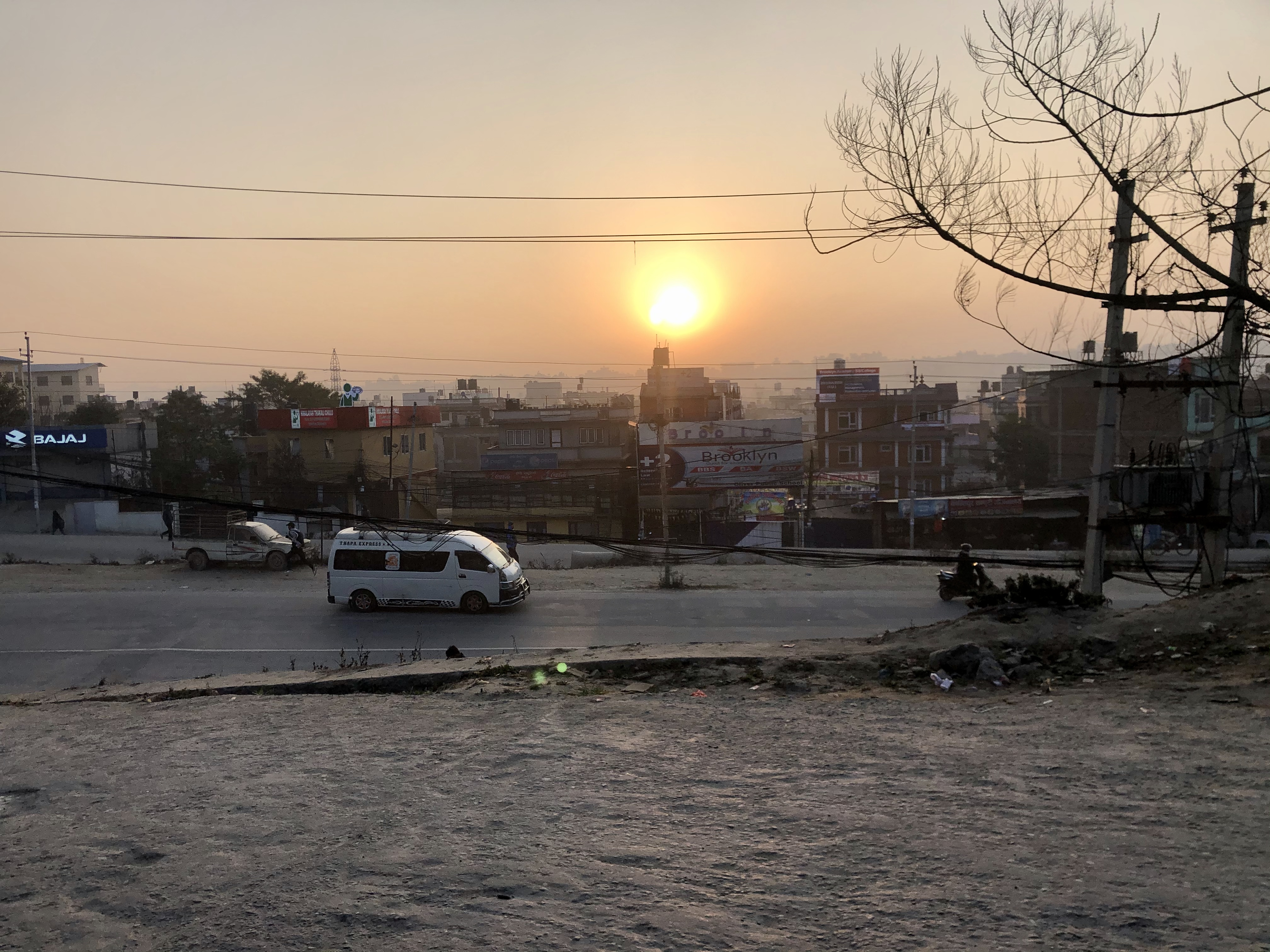 View of Sukedhara, Kathmandu from my morning commute to school (Photo provided)