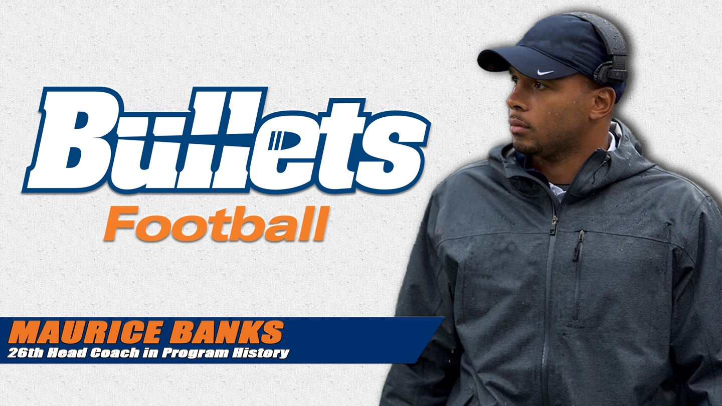 Maurice Banks, the new head coach of the Gettysburg College football team (Photo courtesy of Gettysburg College Athletics)