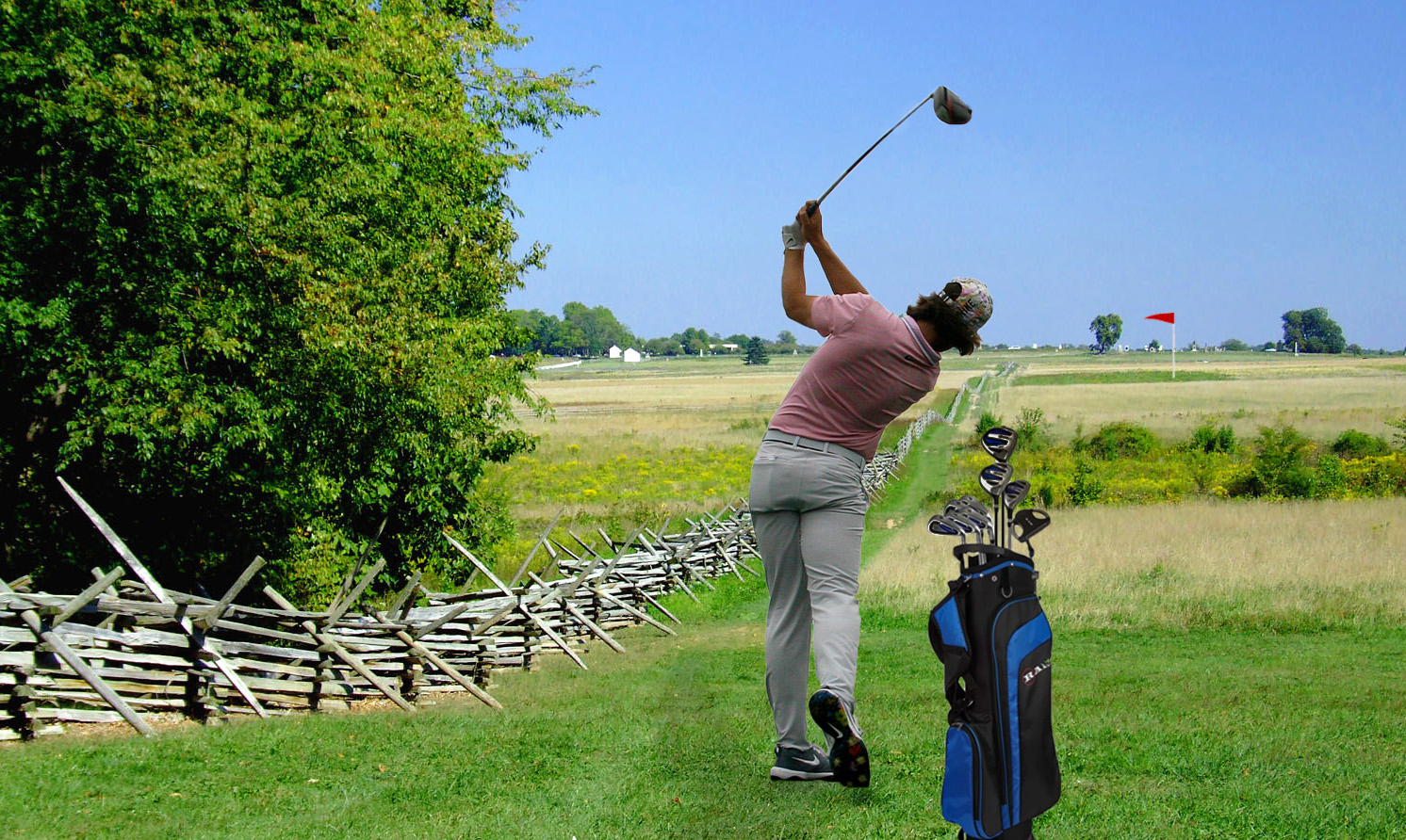 Gettysburg Battlefield is set to be remodeled into a golf course. (Photo Allyson Frantz/The Gettysburgian)